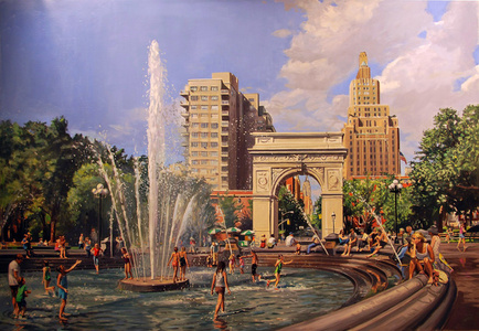 Study for Washington Square Park