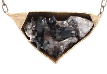 Smokey Crystal Quartz Necklace