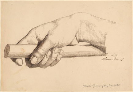 Right Hand Holding Short Rod