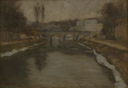 Charenton Bridge Over the Marne