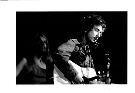 Leon Russell and Bob Dylan, 1971