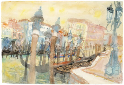 View of Venice with Lantern