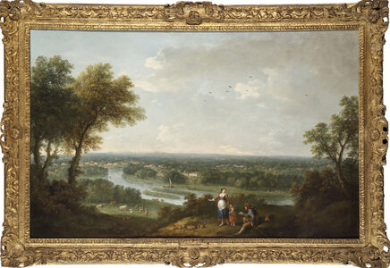 A View of the River Thames from Richmond Hill
