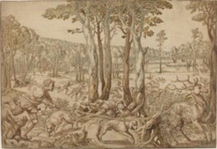 The Hunts of Maximilian: The Stag Hunt (August)