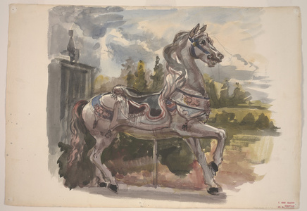 Untitled (Carousel Horse)