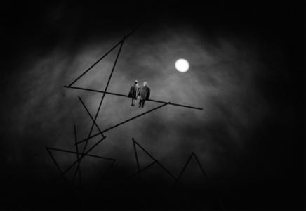 267 - Nocturne (d'apres Paul Klee)