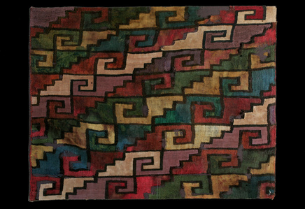 Multicolor Step Design Arica Textile