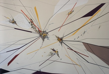 MORPHO & DEBRIS SERIES, DRAWING V