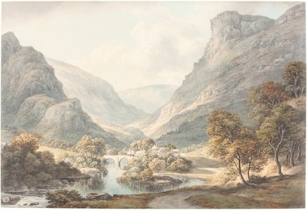 A View of Dovedale