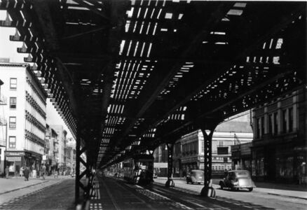 Under the El - 3rd Ave., New York