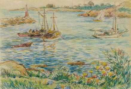 Spring Time, Rockport Harbor, Massachusetts