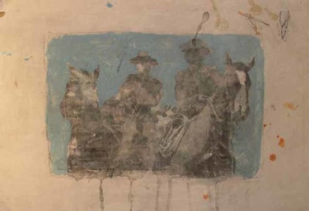 Untitled (Two Cowboys)