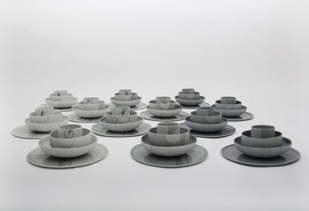 Composition Porcelain i.c.w. Bob Waardenburg
