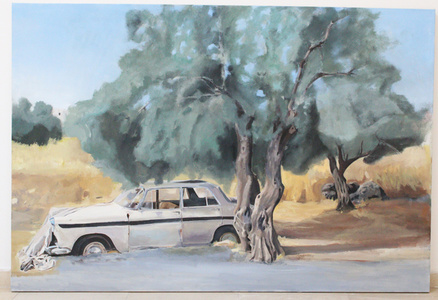 Olive Tree by the Road