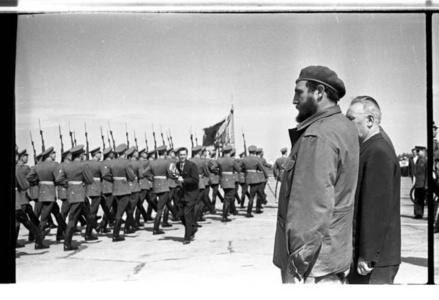Fidel Castro. Kyiv, Ukraine. 1963