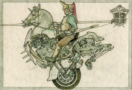 """""""French Heavy Cavalry"""" from """"Records of Japanese-Sino War & Japanese-Russo War"""""""