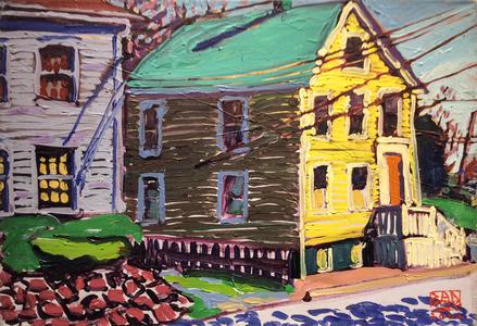 Yellow House on Bradford