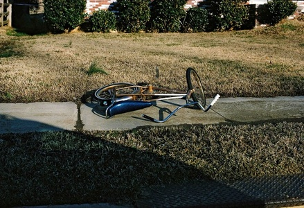 UNTITLED (BICYCLE ON SIDEWALK)