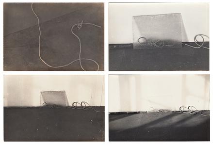 "Documentation of the performance/action ""Ênfase à Escultura"" with the sculpture ""O Grande Cavalo"" (1951), of italian artist Marino Marini"