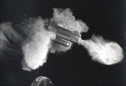 Antique Gun Firing