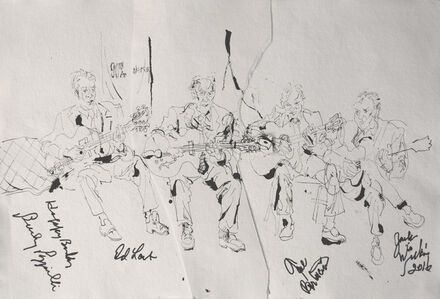 Bucky Pizzarelli, Ed Laub Gene, Bertoncini, and Jack Wilkins at Jazz Gallery