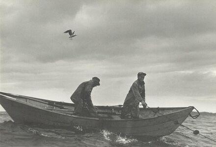 Nova Scotia (Fishermen in Boat)