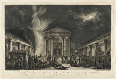 Temple d'Isis … Pompeii tel qu'il devoit ˆtre en l'ann'e 79