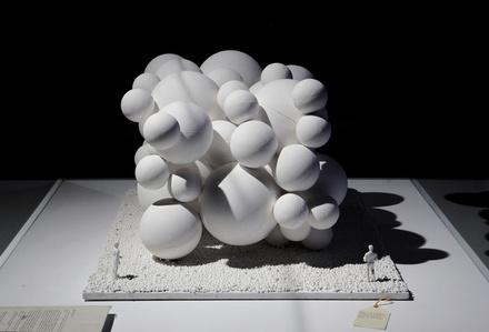 Maqueta de una obra (Scale Model of an Artwork)