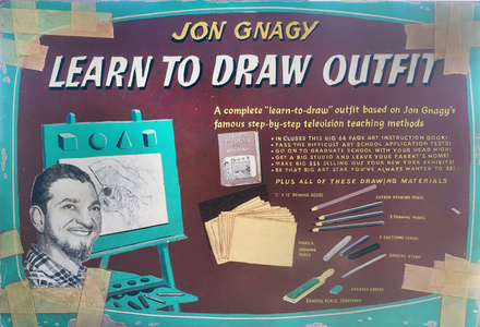 Circa 1950, Learn to Draw