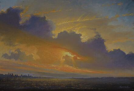 9.8.16 - Sunset over Hudson