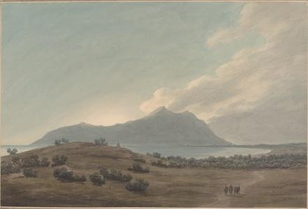 Monte Circeo at Sunset