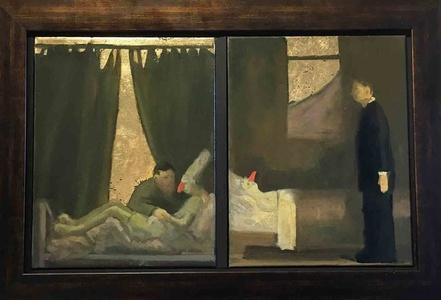 Lamentation Bedside/III