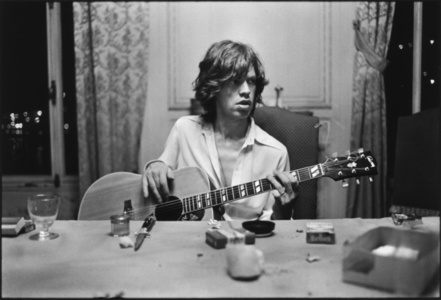 Mick with a Guitar, 1971