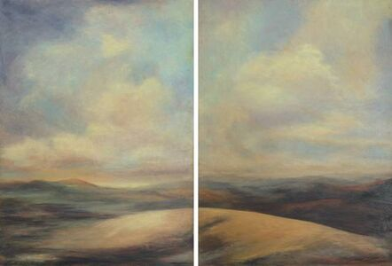 Brightening with the Dawn (diptych)