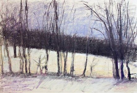 Untitled Winter Landscape (from Allan Stone Collection)