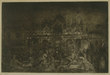 Nocturne, St Mark's, Venice