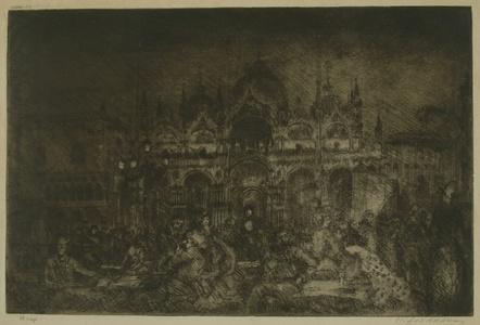 Nocturne, St Mark's, Venice