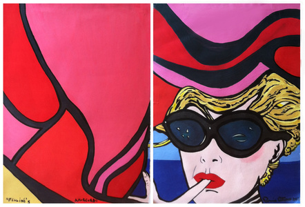 Fellini's Amorcord (Diptych)