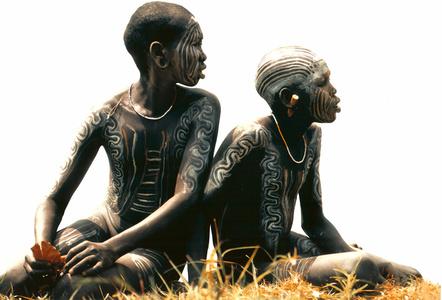 Surma (two children watching)