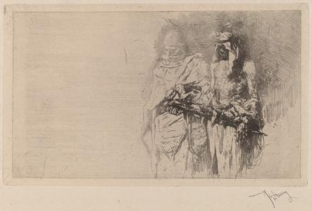 Two Arabian Figures: a Sketch