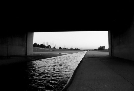 Flux: Los Angeles River, Framed View