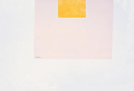 London Series II: Untitled (Orange/ Pink)