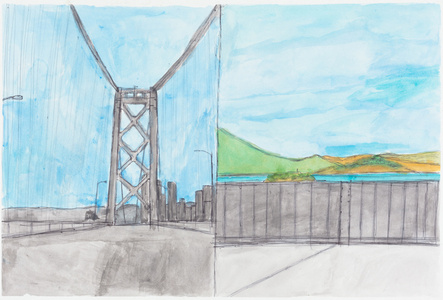 Bay Bridge Landscape
