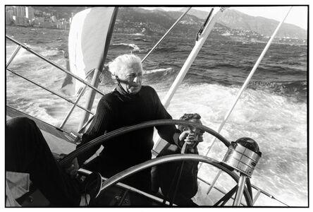 Gianni Agnelli, Antibes, France, 1989