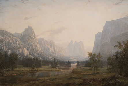 Evening in the Yosemite Valley
