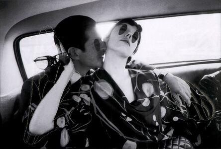 Irving Blum and Peggy Moffitt