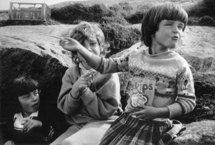 Toots, Catriona & Maggie, from The Vatersay Series