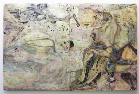 Conglomeration 11 (diptych)