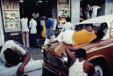Exhausted Workmen, Bombay, Maharashtra