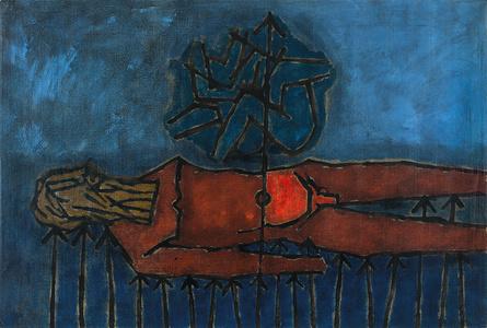 Untitled (Bhishma), Diptych